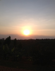 Another beautiful African sunset