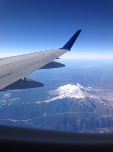 Flying over Washington after the Covenant Awards in Vancouver.